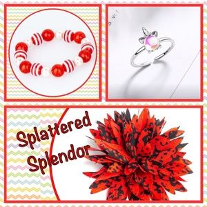 Other - ❤️New❤️❤️❤️Splattered Splendor Hair Clip Jewelry❤️